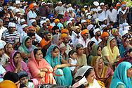 Sabaudia (LT), 27/06/2010: La comunità indiana del Punjab di religione Sikh commemora il martirio del quinto guru Arjan Dev, secondo la tradizione ucciso nel 1606 per mano di un musulmano - The Indian community of Punjab of Sikh religion commemorates the martyrdom of fifth guru Arjan Dev, according to tradition, killed in 1606 at the hands of a Muslim