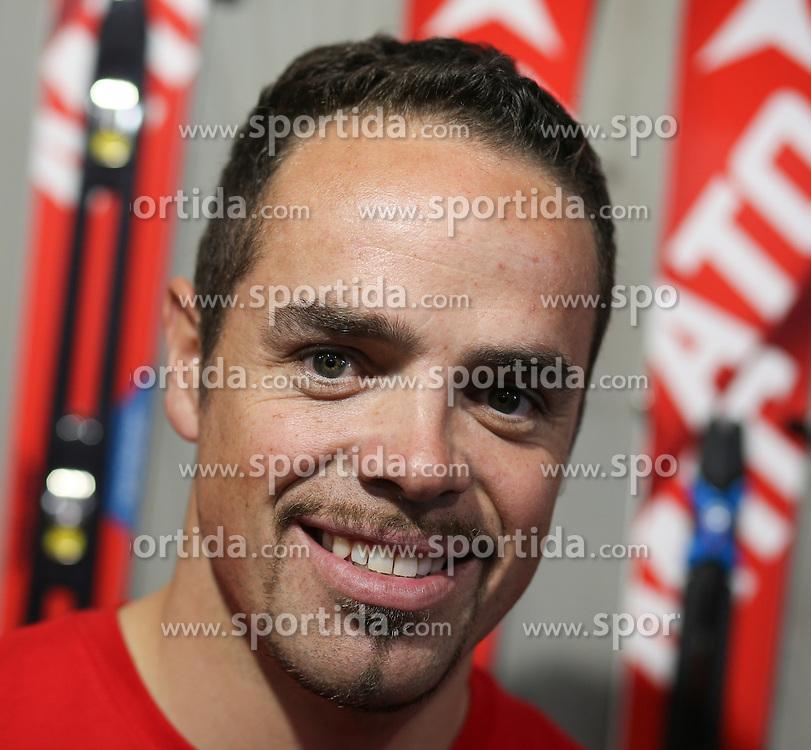 05.10.2015, Atomic Homebase, Altenmarkt, AUT, Atomic Medien Tag, im Bild Peter Fill (ITA) // Peter Fill of Italy during the Atomic Media Day at Atomic Homebase in Altenmarkt, Austria on 2015/10/05. EXPA Pictures © 2015, PhotoCredit: EXPA/ Martin Huber