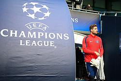 PSG goalkeeper Kevin Trapp walks out to train - Mandatory byline: Matt McNulty/JMP - 07966386802 - 11/04/2016 - FOOTBALL - Manchester City v PSG - Etihad Stadium -Manchester,England - UEFA Champions League