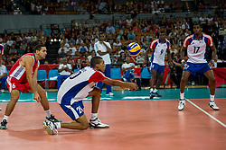 13.09.2014, Centennial Hall, Breslau, POL, FIVB WM, Kuba vs Bulgarien, 2. Runde, Gruppe F, im Bild Osmany Santiago Uriarte Mestre cuba #20 // Osmany Santiago Uriarte Mestre cuba #20 during the FIVB Volleyball Men's World Championships 2nd Round Pool F Match beween Cuba and Bulgaria at the Centennial Hall in Breslau, Poland on 2014/09/13. EXPA Pictures © 2014, PhotoCredit: EXPA/ Newspix/ Sebastian Borowski<br /> <br /> *****ATTENTION - for AUT, SLO, CRO, SRB, BIH, MAZ, TUR, SUI, SWE only*****