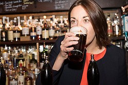 Scottish Labour leader Kezia Dugdale and Neil Bibby MSP who is a member of the Cross-Party Group in the Scottish Parliament on Beer and Pubs launch a campaign to transform Scotland's 'tied' pubs and give customers more choice over the drinks on sale.