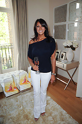 JACKIE ST.CLAIR at a party hosted by Maria Hatzistefanis to celebrate the publication of Santa Montefiore's new book 'The Affair' held at 35 Walpole Road, London on 27th April 2010.
