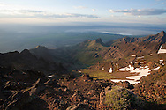 Steens mountain landscape
