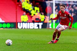 Matty Cash of Nottingham Forest - Mandatory by-line: Ryan Crockett/JMP - 22/02/2020 - FOOTBALL - The City Ground - Nottingham, England - Nottingham Forest v Queens Park Rangers - Sky Bet Championship