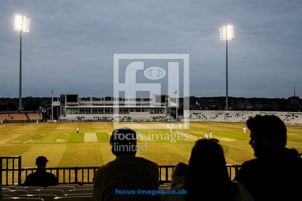 A general view from the evening session during the Specsavers County C'ship Div Two match at the County Ground, Northampton<br /> Picture by Andy Kearns/Focus Images Ltd 0781 864 4264<br /> 26/06/2017