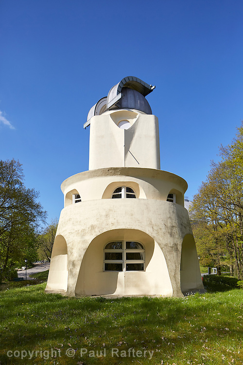 The Enstein Tower, an astrophyisical observatory in the Albert Einstein Science Park in Potsdam built by Erich Mendelsohn
