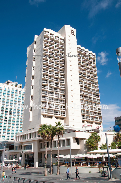 Israel, Tel Aviv, the Renaissance Hotel on the beach front