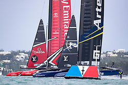 Louis Vuitton America's Cup Finals. Artemis Racing vs Emirates Team New Zealand. 2-4. 11th of June, 2017, Bermuda