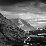 Glen Etive from Dalness to Loch Etive