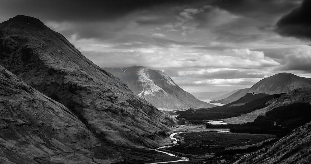Glen Etive from Dalness to Loch Etive