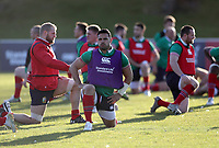 Rugby Union - 2017 British & Irish Lions Tour of New Zealand - Training <br /> <br /> Ben Te'o of The British and Irish Lions during a training session at Rotorua International Stadium back pitches, Rotorua.<br /> <br /> <br /> COLORSPORT/LYNNE CAMERON