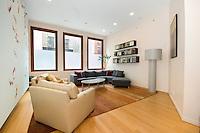 Living Room at 71 Warren Street