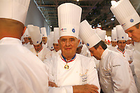 Paul Bocuse.  at the Bocuse d'Or..Owen Franken for the NY Times..January 27, 2009