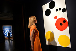 Pictured is 'Mickey' by Damien Hirst which goes on sale at Christie's Auction House as part of the Post War and Contemporary Art sale season this February.<br /> Friday, 7th February 2014. Picture by Ben Stevens / i-Images