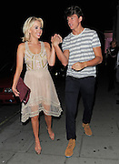 22.AUGUST.2012. LONDON<br /> <br /> TOWIE CAST MEMBERS ATTEND THE TOWIE WRAP PARTY HELD AT NO.5 CAVENDISH SQAURE IN MAYFAIR, LONDON.                                                                    <br /> <br /> BYLINE: EDBIMAGEARCHIVE.CO.UK<br /> <br /> *THIS IMAGE IS STRICTLY FOR UK NEWSPAPERS AND MAGAZINES ONLY*<br /> *FOR WORLD WIDE SALES AND WEB USE PLEASE CONTACT EDBIMAGEARCHIVE - 0208 954 5968*