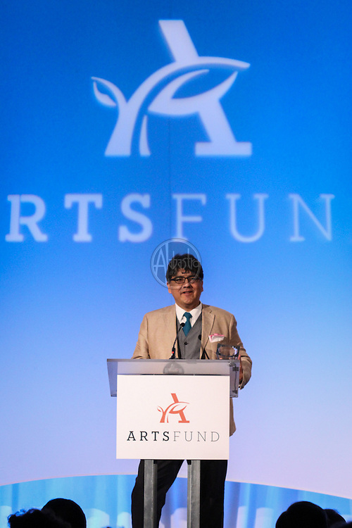 ArtsFund 2014 Celebration of the Arts Luncheon with author, Sherman Alexie.