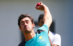 Australia's  Mitchell Starc  during a nets session at Sydney Cricket Ground. PRESS ASSOCIATION Photo. Picture date: Tuesday January 2, 2018. See PA story CRICKET Australia. Photo credit should read: Jason O'Brien/PA Wire. RESTRICTIONS: Editorial use only. No commercial use without prior written consent of the ECB. Still image use only. No moving images to emulate broadcast. No removing or obscuring of sponsor logos.