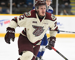 Chad Denault of the Peterborough Petes. Photo by Aaron Bell/OHL Images