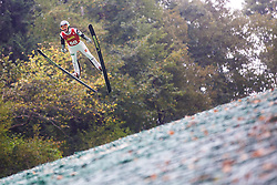 Likar Matej during national competition in Ski Jumping, 8th of October, 2016, Kranj,  Slovenia. Photo by Grega Valancic / Sportida