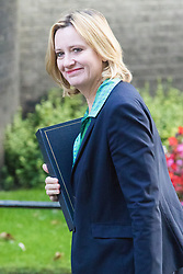 Downing Street, London, September 13th 2016. Home Secretary Amber Rudd arrives for the weekly cabinet meeting at Downing Street.