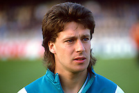 Stephen Penney, footballer, N Ireland and Brighton FC, 19880305SP1..Copyright Image from Victor Patterson, 54 Dorchester Park, Belfast, UK, BT9 6RJ..Tel: +44 28 9066 1296.Mob: +44 7802 353836.Voicemail +44 20 8816 7153.Skype: victorpattersonbelfast.Email: victorpatterson@me.com.Email: victorpatterson@ireland.com (back-up)..IMPORTANT: If you wish to use this image or any other of my images please go to www.victorpatterson.com and click on the Terms & Conditions. Then contact me by email or phone with the reference number(s) of the image(s) concerned.