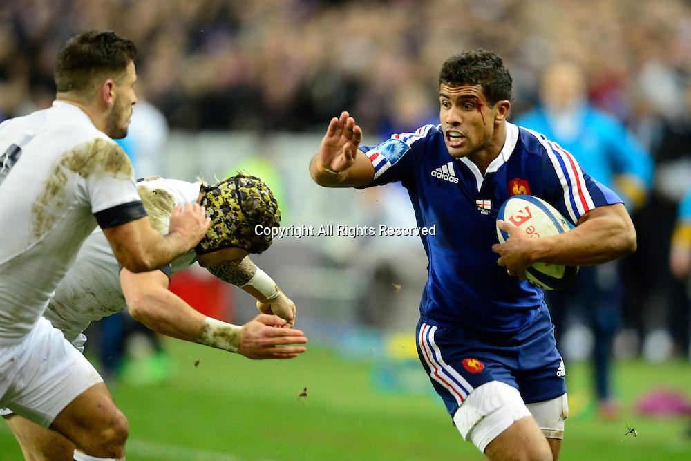 01.02.2014. Stade de France, Paris, France. 6 Nations International Rugby Union. France versus England.  Wesley Fofana ( France )