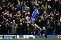 Photo: Lee Earle.<br /> Chelsea v Reading. The Barclays Premiership. 26/12/2006. Chelsea's Didier Drogba celebrates after scoring their second.