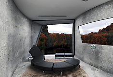 Live Like A Bond Villain In This Concrete Cliffside Home - 27 Feb 2020