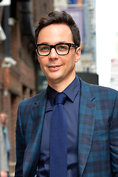 May 16, 2019 - New York, NY, USA - May 16, 2019 New York City..Jim Parsons arriving to tape an appearance on 'The Late Show with Stephen Colbert' on May 16, 2019 in New York City. (Credit Image: © Kristin Callahan/Ace Pictures via ZUMA Press)