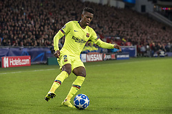 November 28, 2018 - Eindhoven, Netherlands - Nelson Semedo of Barcelona in action during the UEFA Champions League Group B match between PSV Eindhoven and FC Barcelona at Philips Stadium in Eindhoven, Netherlands on November 28, 2018  (Credit Image: © Andrew Surma/NurPhoto via ZUMA Press)