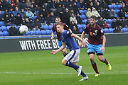 Eoin Doyle Oldham Forward during the EFL Sky Bet League 1 match between Oldham Athletic and Scunthorpe United at Boundary Park, Oldham, England on 28 October 2017. Photo by George Franks.