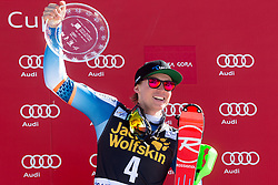 Winner of Cup Vitranc (overall) KRISTOFFERSEN Henrik of Norway at medal ceremony during the 2nd Run of Men's Slalom - Pokal Vitranc 2014 of FIS Alpine Ski World Cup 2013/2014, on March 9, 2014 in Vitranc, Kranjska Gora, Slovenia. Photo by Matic Klansek Velej / Sportida