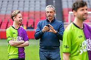 Johan Cruijff ArenA, Amsterdam. FC Kensington vs FC Coen en Sander. Op de foto: Daan Boom en Robert Maaskant