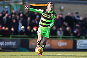 Forest Green Rovers Christian Doidge(9) during the EFL Sky Bet League 2 match between Forest Green Rovers and Crawley Town at the New Lawn, Forest Green, United Kingdom on 24 February 2018. Picture by Shane Healey.