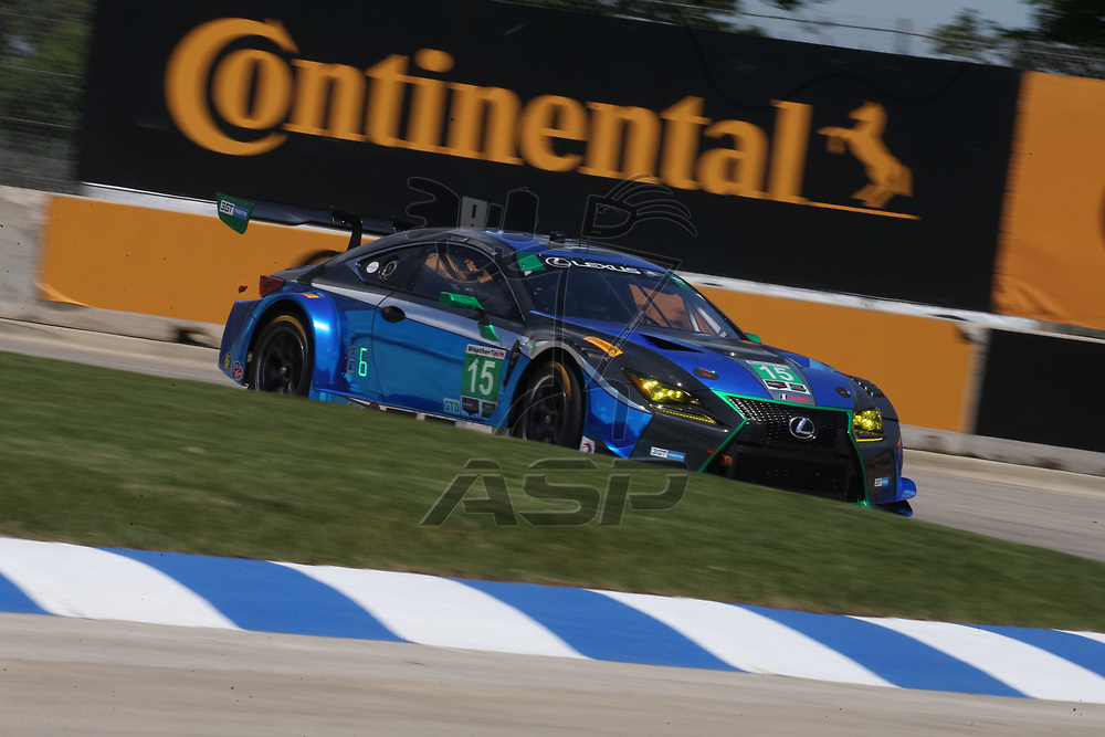 June 02, 2017 - Detroit, Michigan, USA:  The IMSA WeatherTech SportsCar Championship practice for the Chevrolet Sports Car Classic at Belle Isle Street Course in Detroit, Michigan.