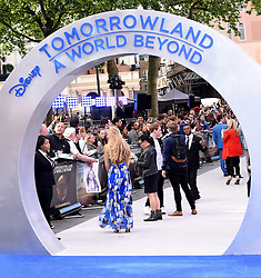 Atmosphere at Disney's Tomorrowland -  A World Beyond UK film premiere at Odeon Cinema, Leicester Square, London on Sunday May 17, 2015
