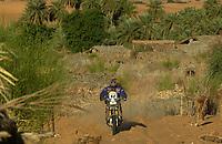 Motor - Motorsykkel: Paris-Dakar 2002. Pål Anders Ullevålseter fra Norge.<br />Foto: Eric Vargiolu, Digitalsport