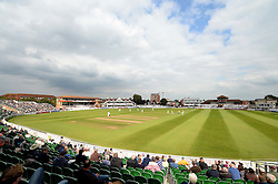 General view inside The County Ground as action gets underway during the afternoon.  - Mandatory byline: Alex James/JMP - 07966386802 - 09/09/2015 - FOOTBALL -  - The County Ground - Taunton  - Somerset v Hampshire - LV CC -