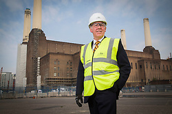 Battersea Power Station site Richard Thorpe visit.Picture for Mace by David Poultney, In-Press Photography Ltd