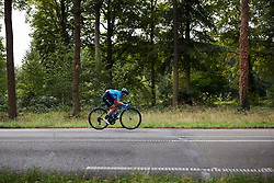 Malgorzata Jasinska (POL) in a solo attack at Boels Ladies Tour 2019 - Stage 5, a 154.8 km road race from Nijmegen to Arnhem, Netherlands on September 8, 2019. Photo by Sean Robinson/velofocus.com