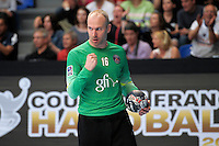 Joie Thierry Omeyer - 26.04.2015 - Handball - Nantes / Paris Saint Germain - Finale Coupe de France<br /> Photo : Andre Ferreira / Icon Sport