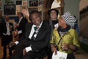 YINKA SHONIBARE; RON ARAD, SONIA BOYCE, 2019 Royal Academy Annual dinner, Piccadilly, London.  3 June 2019