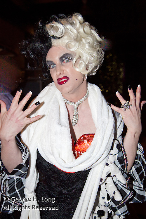"Cruella De Ville of ""101 Dalmatians""; Satyricon Ninth Bal Masque: ""The Mickey Ball"""