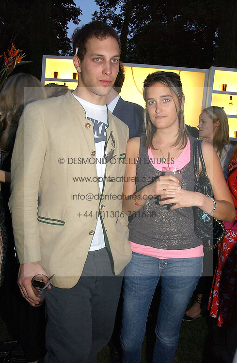 LORD FREDERICK WINDSOR and VIOLET VON WESTENHOLTZ at the Quintessentially Summer Party held at Debenham House, 8 Addison Road, London W14 on 15th June 2006.<br /><br />NON EXCLUSIVE - WORLD RIGHTS