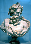 Neptune, god of the oceans. From an antique bust