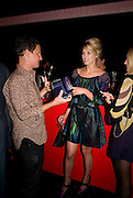 JONATHAN YEO; ROSAMUND PIKE, The Summer Party. Hosted by the Serpentine Gallery and CCC Moscow. Serpentine Gallery Pavilion designed by Frank Gehry. Kensington Gdns. London. 9 September 2008.  *** Local Caption *** -DO NOT ARCHIVE-© Copyright Photograph by Dafydd Jones. 248 Clapham Rd. London SW9 0PZ. Tel 0207 820 0771. www.dafjones.com.