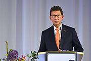 Nederland, Arnhem, 1-9-2017Commissaris van de koning in Gelderland, Clemens Cornielje tijdens de installatie van Ahmed Marcouch als burgemeester van Arnhem.Foto: Flip Franssen