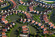 Nederland, Overijssel, Gemeente Zevenaar, 03-10-2010; Lathum,   Bungalowpark Riverparc (Rivierpark), gelegen in recreatiegebied - recreatieplas Rhederlaag. Er is sprake van het legaliseren van permanente bewoning in de recreatiewoningen. .Holiday Village 'River Park' and recreation lake and area Rhederlaag. luchtfoto (toeslag), aerial photo (additional fee required).foto/photo Siebe Swart