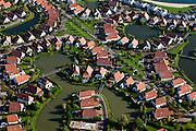 Nederland, Overijssel, Gemeente Zevenaar, 03-10-2010; Lathum,   Bungalowpark Riverparc (Rivierpark), gelegen in recreatiegebied - recreatieplas Rhederlaag. Er is sprake van het legaliseren van permanente bewoning in de recreatiewoningen. .Holiday Village 'River Park' and recreation lake and area Rhederlaag. luchtfoto (toeslag), aerial photo (additional fee required).foto/photo Siebe Swart