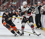 Hockey: 20170920 Anaheim Ducks vs Arizona Coyotes